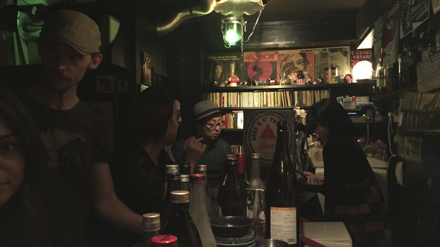 Bar inside the Golden Gai